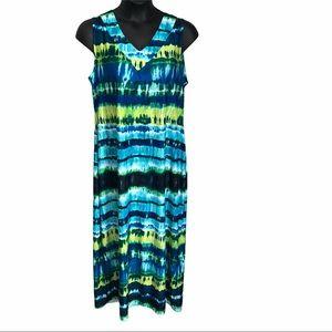 🌻2/$25 Avenue Tie Dye Maxi Dress 18/20